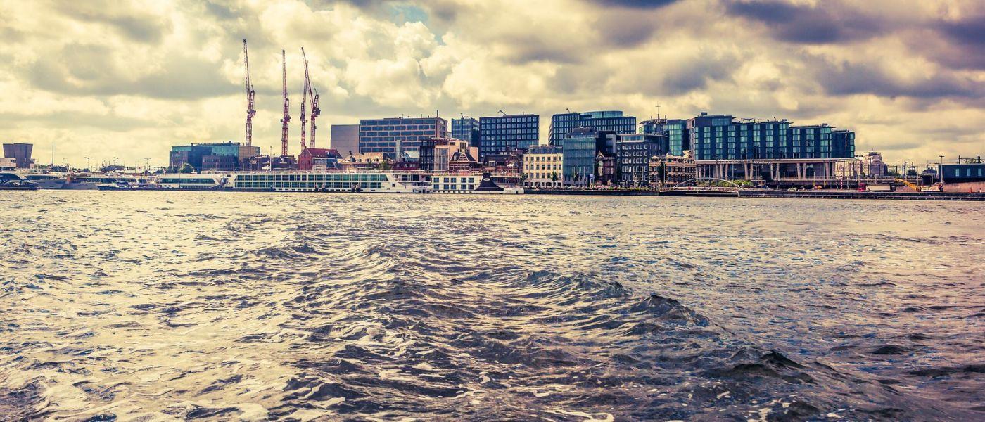荷兰阿姆斯特丹,坐游船看老城_图1-11