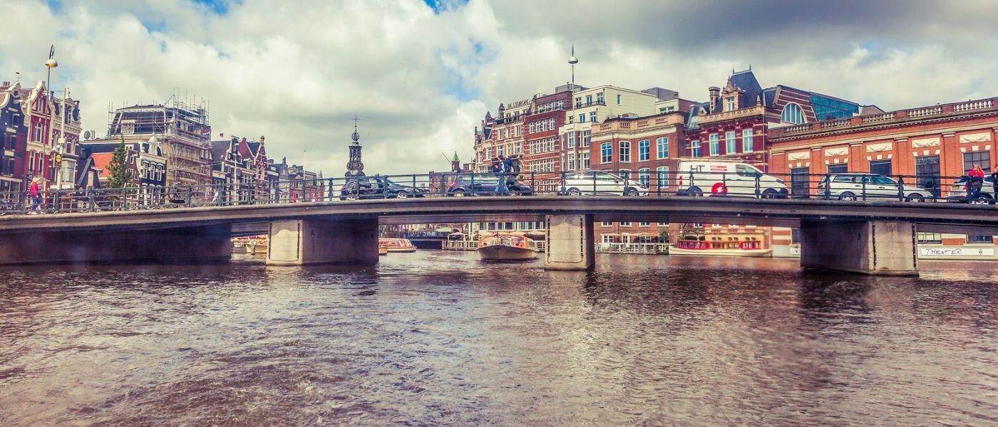荷兰阿姆斯特丹,坐游船看老城_图1-12