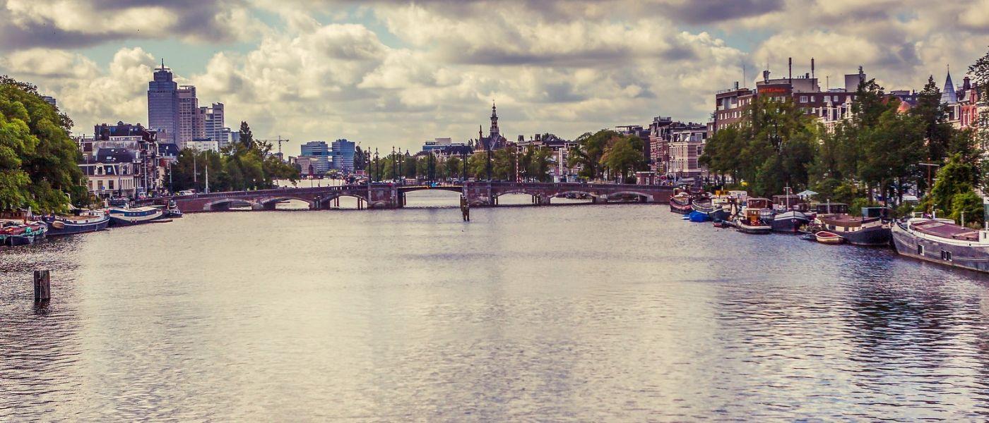 荷兰阿姆斯特丹,坐游船看老城_图1-8