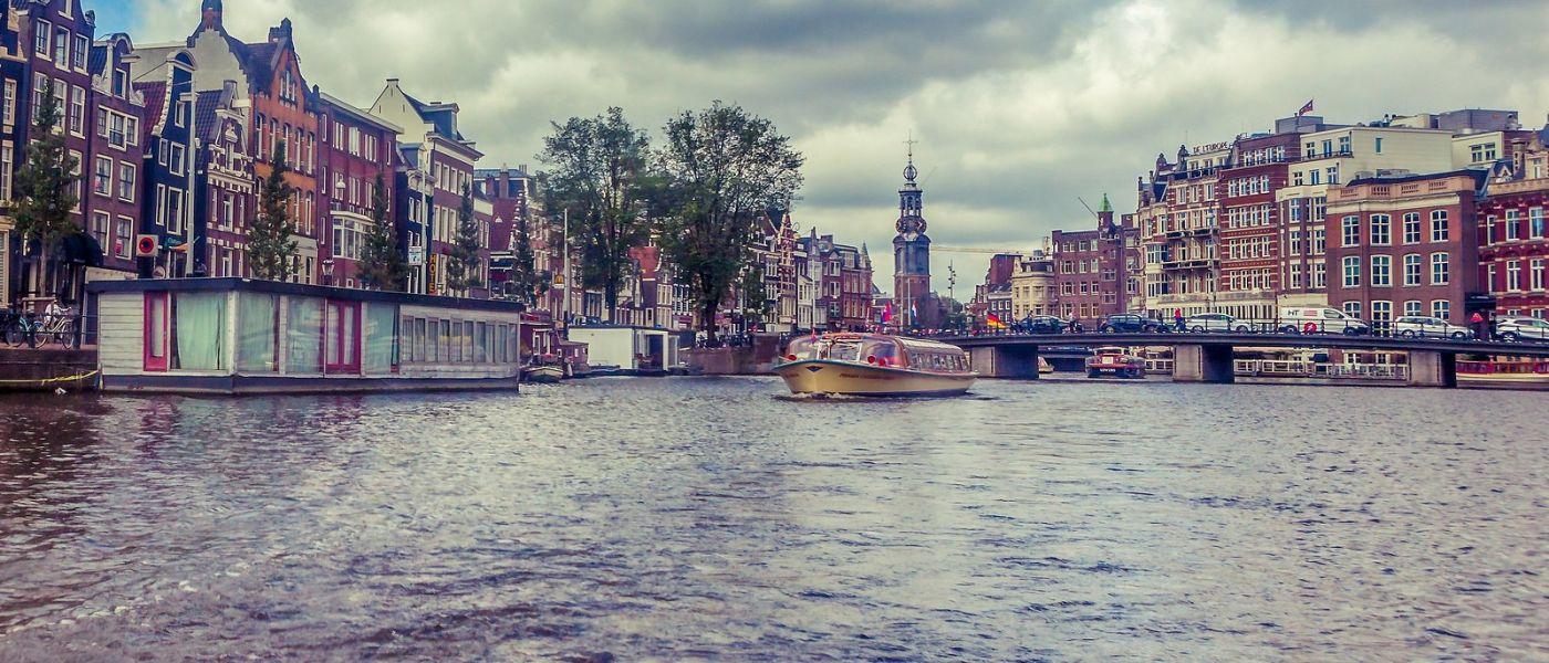 荷兰阿姆斯特丹,坐游船看老城_图1-7