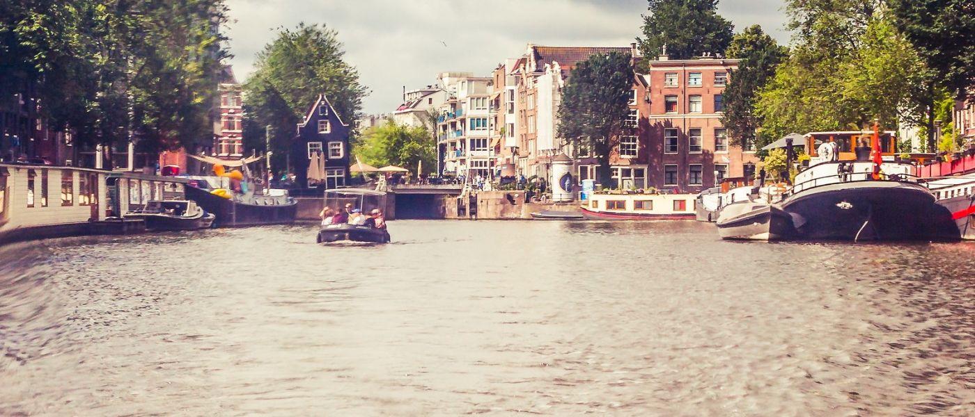 荷兰阿姆斯特丹,坐游船看老城_图1-6