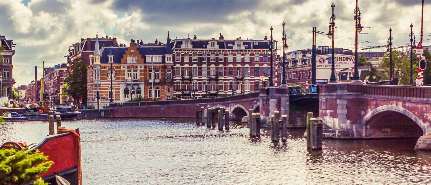 荷兰阿姆斯特丹,坐游船看老城_图1-5