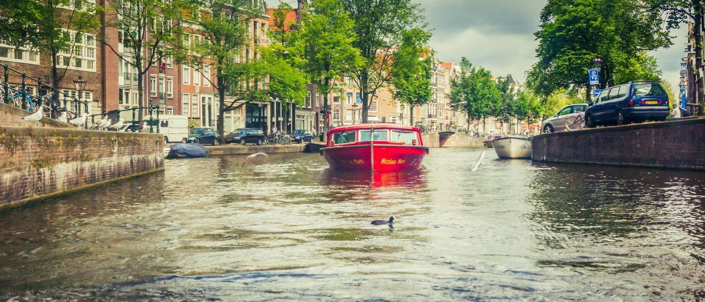 荷兰阿姆斯特丹,坐游船看老城_图1-1