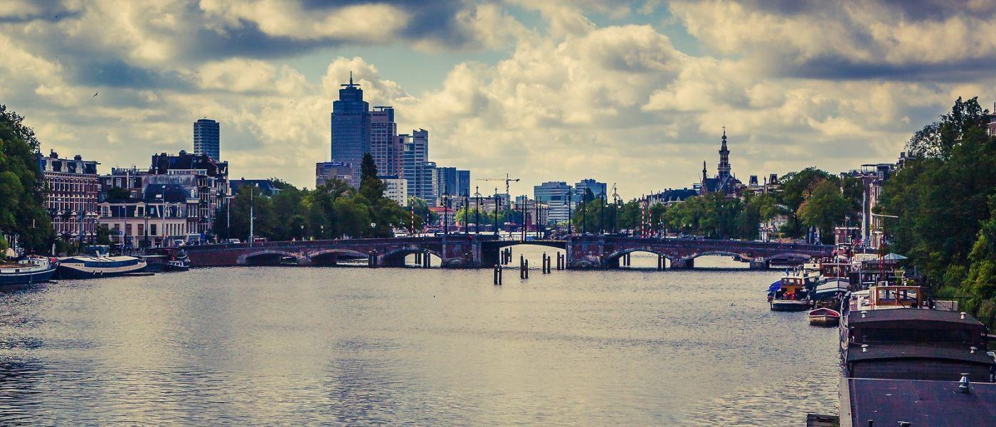 荷兰阿姆斯特丹,坐游船看老城_图1-3