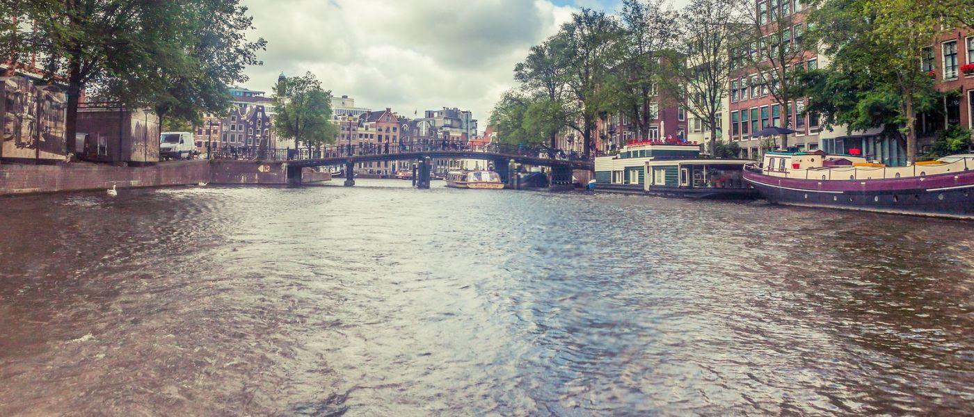 荷兰阿姆斯特丹,坐游船看老城_图1-4