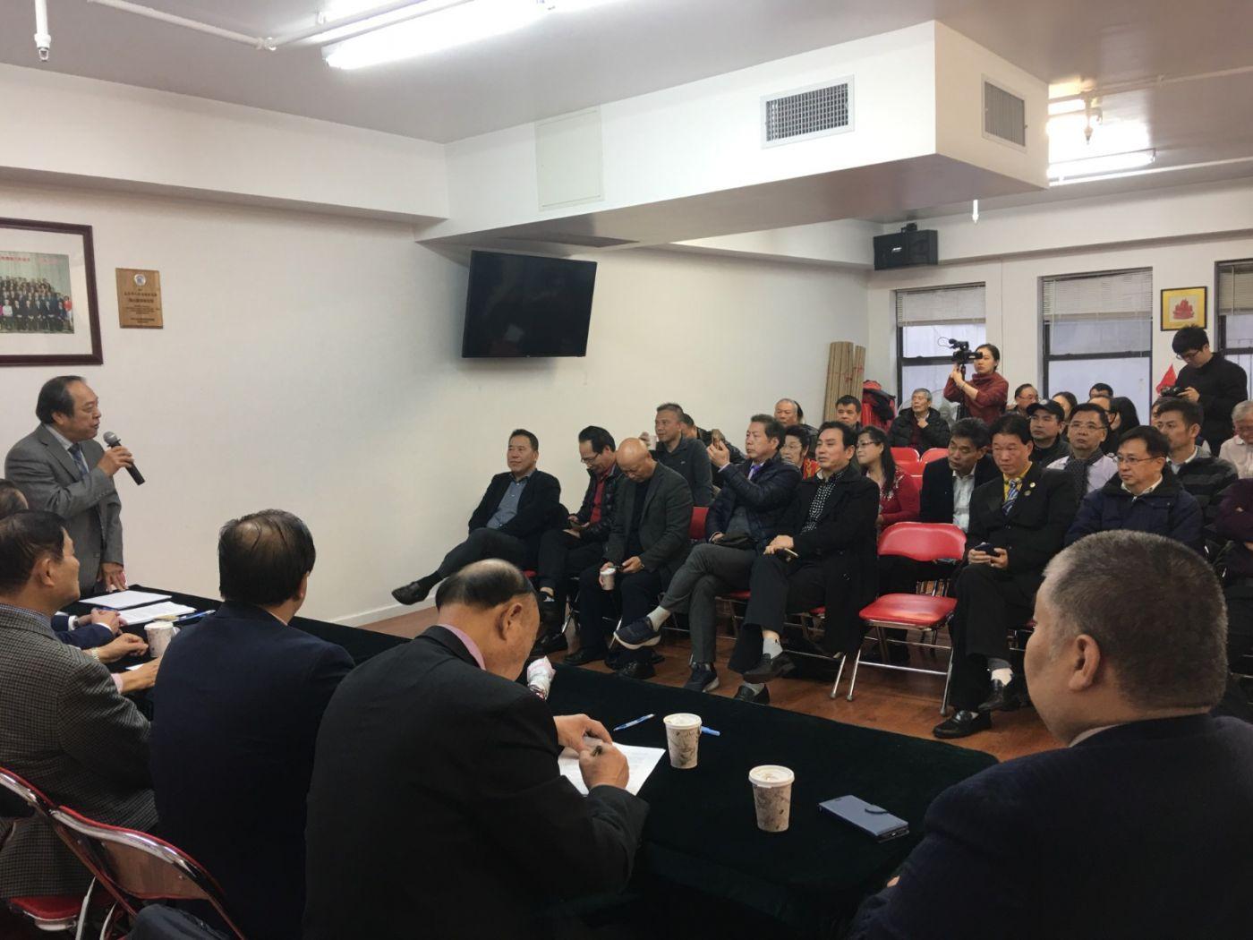 美東各界華僑華人致特朗普總統公開信新聞發佈會_图1-3