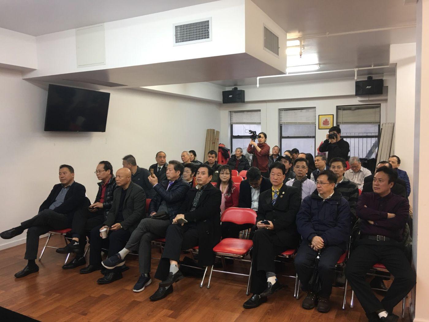 美東各界華僑華人致特朗普總統公開信新聞發佈會_图1-4
