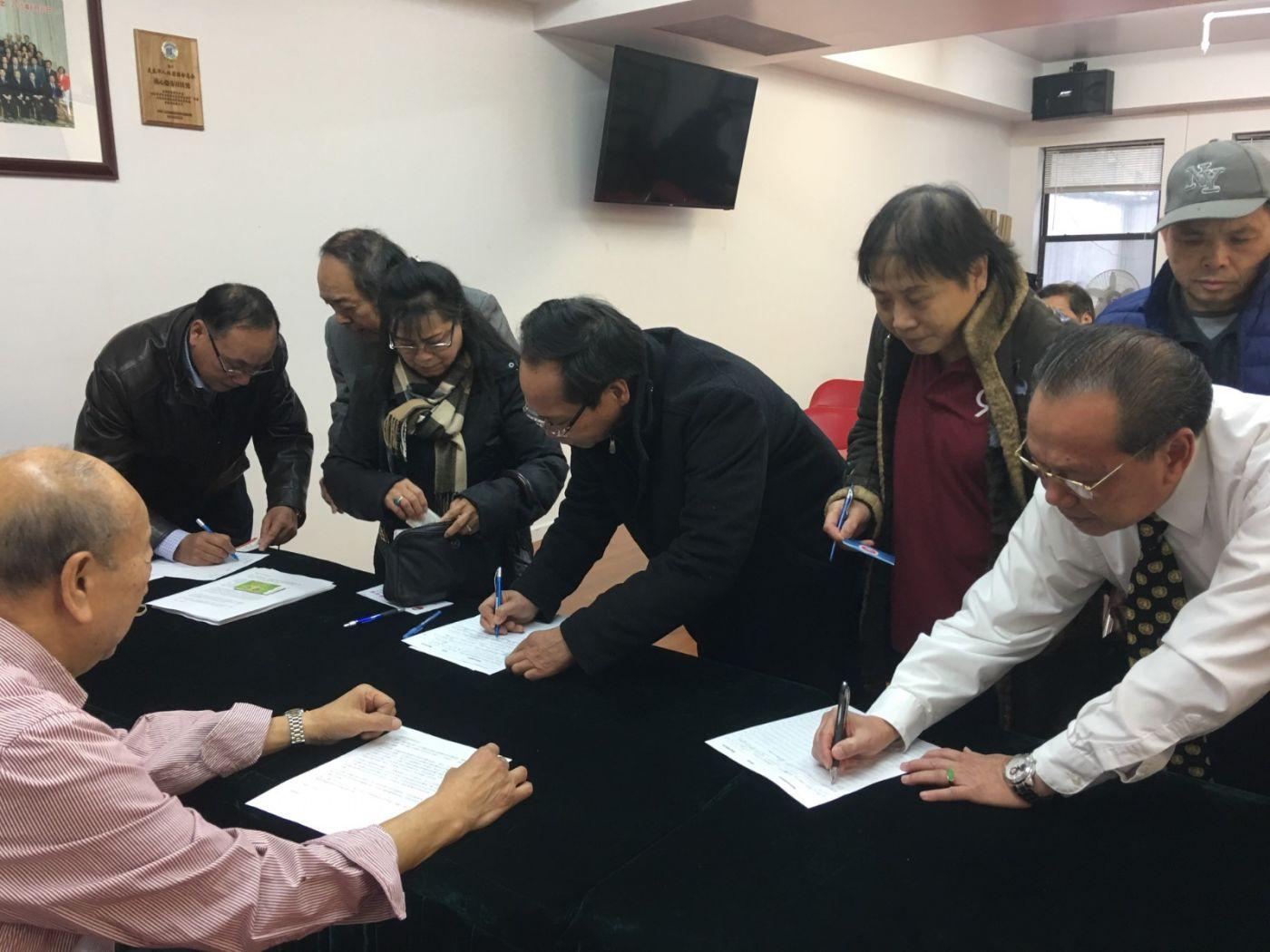 美東各界華僑華人致特朗普總統公開信新聞發佈會_图1-20