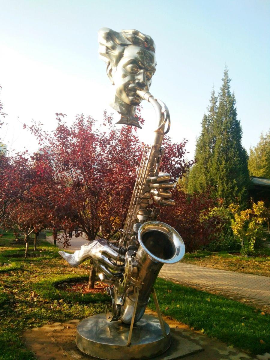 言日:清秋印象——北京国际雕塑公园_图1-7