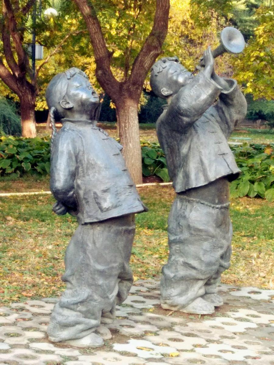 言日:清秋印象——北京国际雕塑公园_图1-9