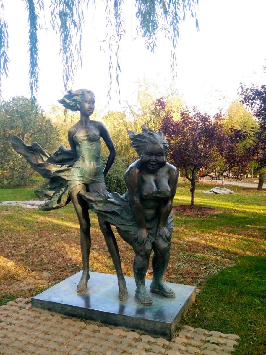 言日:清秋印象——北京国际雕塑公园_图1-11