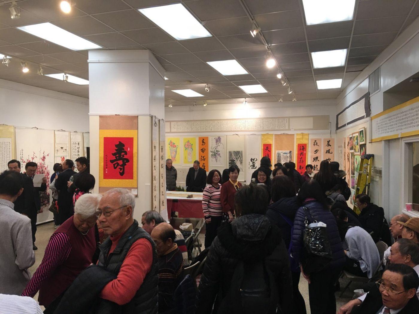 紐約藝能畫院第二届甄锦能油画暨书画名家邀请展开幕_图1-34