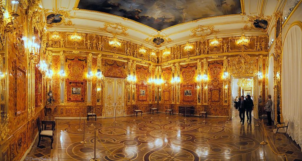 俄罗斯的珍宝(一):琥珀厅(Amber Room)_图1-1