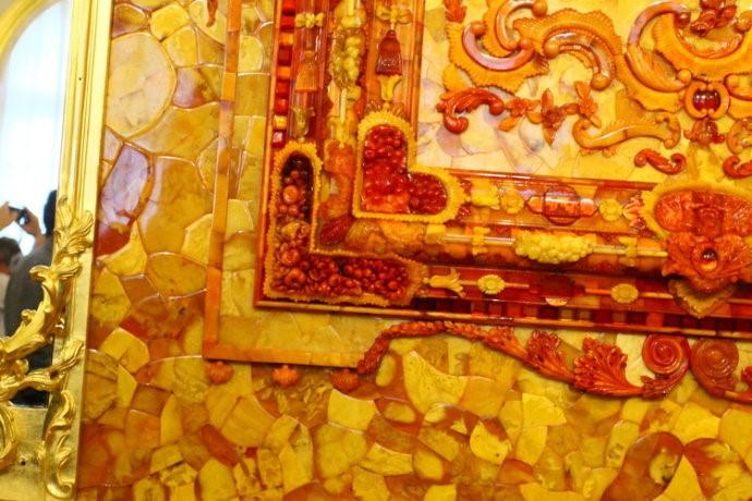 俄罗斯的珍宝(一):琥珀厅(Amber Room)_图1-8