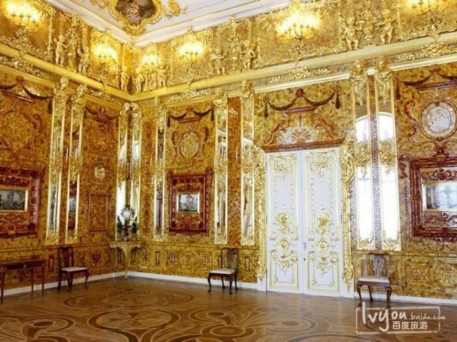 俄罗斯的珍宝(一):琥珀厅(Amber Room)_图1-9