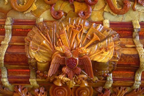 俄罗斯的珍宝(一):琥珀厅(Amber Room)_图1-3