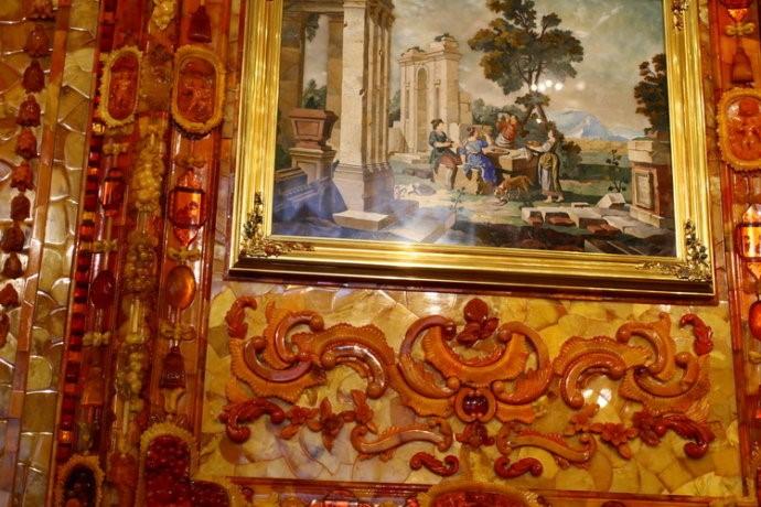 俄罗斯的珍宝(一):琥珀厅(Amber Room)_图1-11