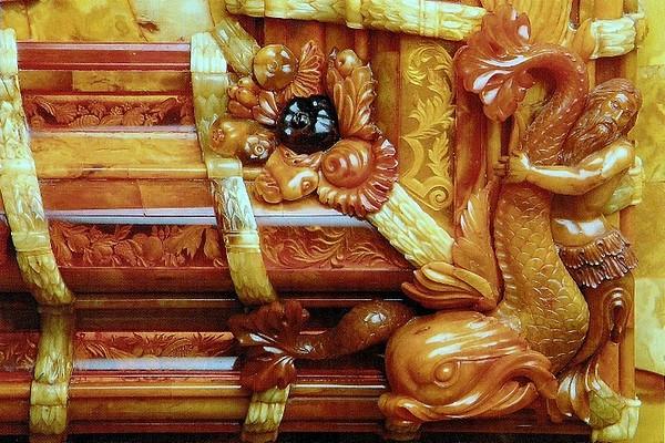 俄罗斯的珍宝(一):琥珀厅(Amber Room)_图1-18