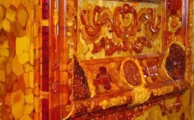 俄罗斯的珍宝(一):琥珀厅(Amber Room)_图1-19
