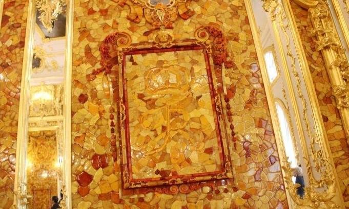 俄罗斯的珍宝(一):琥珀厅(Amber Room)_图1-17