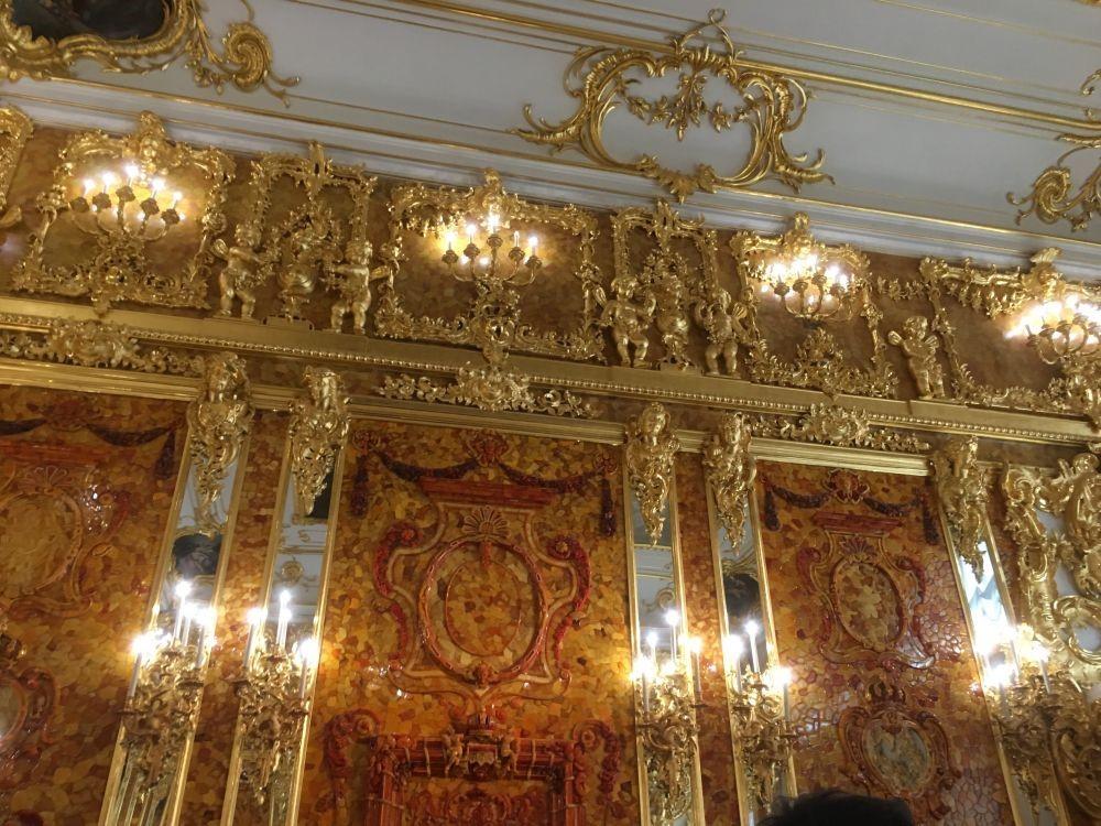 俄罗斯的珍宝(一):琥珀厅(Amber Room)_图1-20