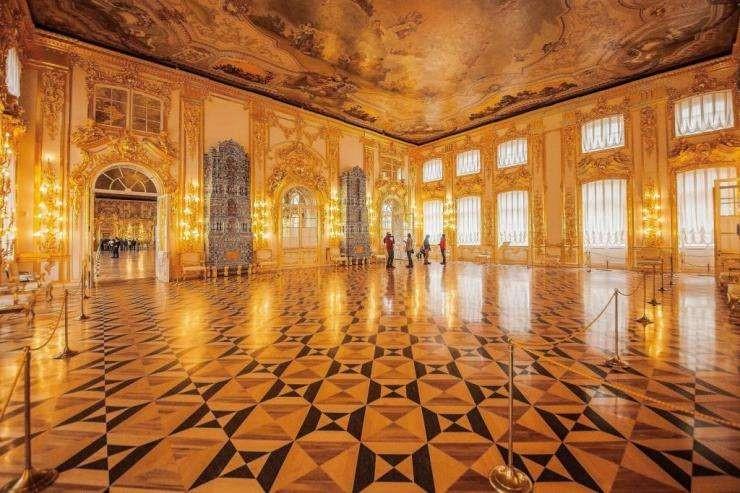 俄罗斯的珍宝(二):大舞厅(Great Ballroom)_图1-8