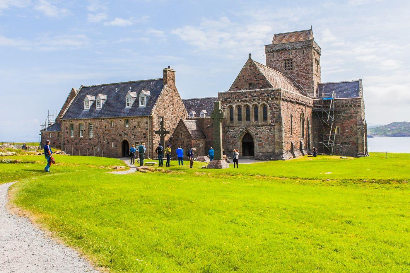 苏格兰圣奥兰教堂(St Oran's Chapel),风景优美_图1-11