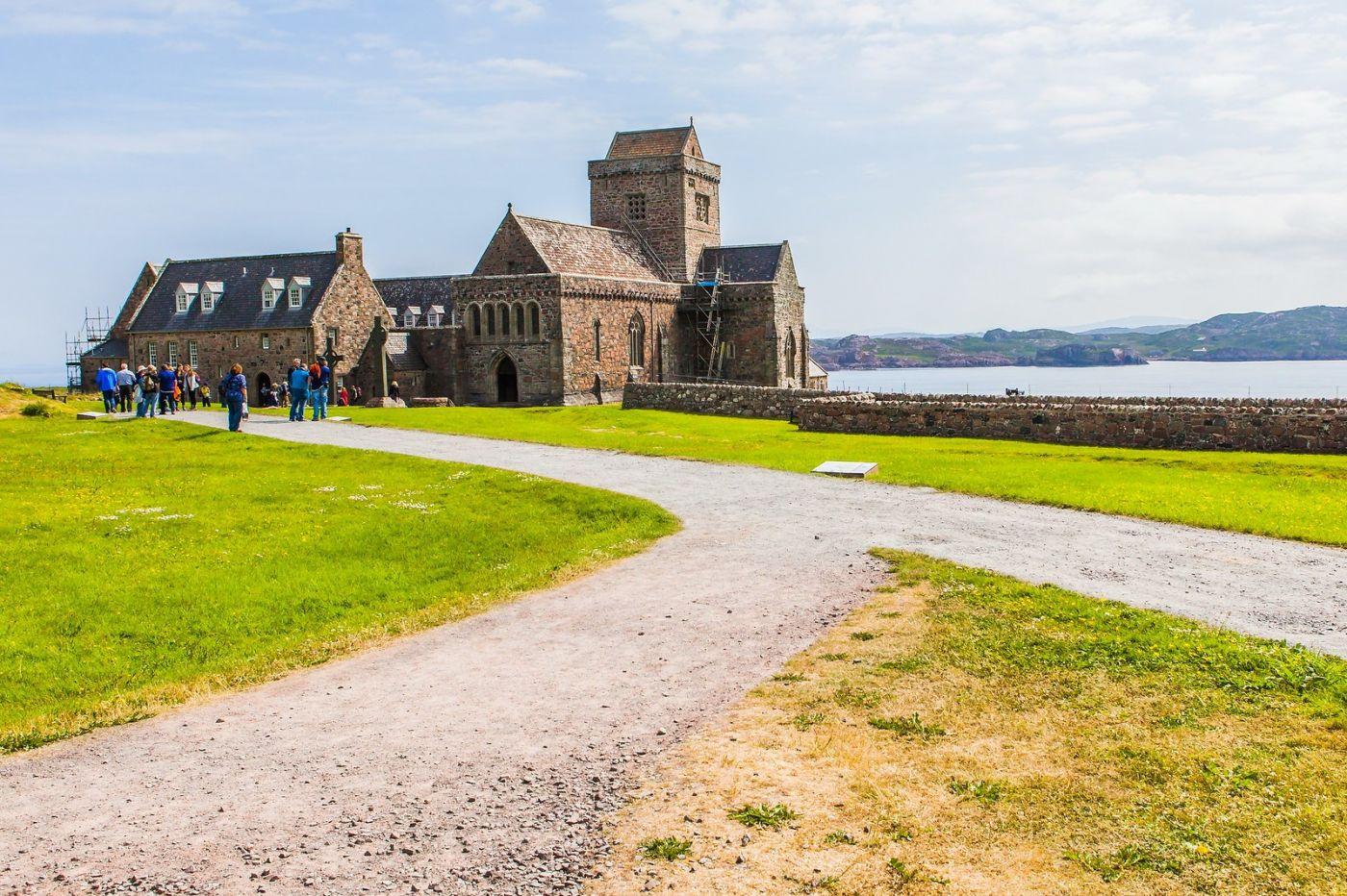 苏格兰圣奥兰教堂(St Oran's Chapel),风景优美_图1-12
