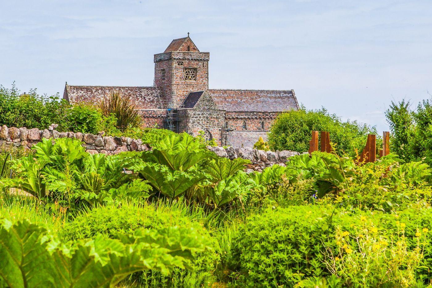 苏格兰圣奥兰教堂(St Oran's Chapel),风景优美_图1-7