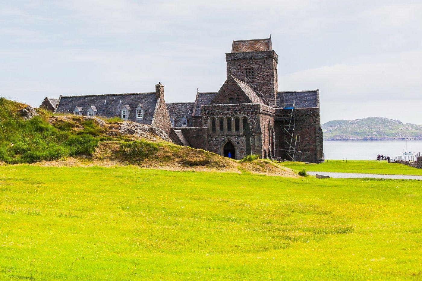 苏格兰圣奥兰教堂(St Oran's Chapel),风景优美_图1-16