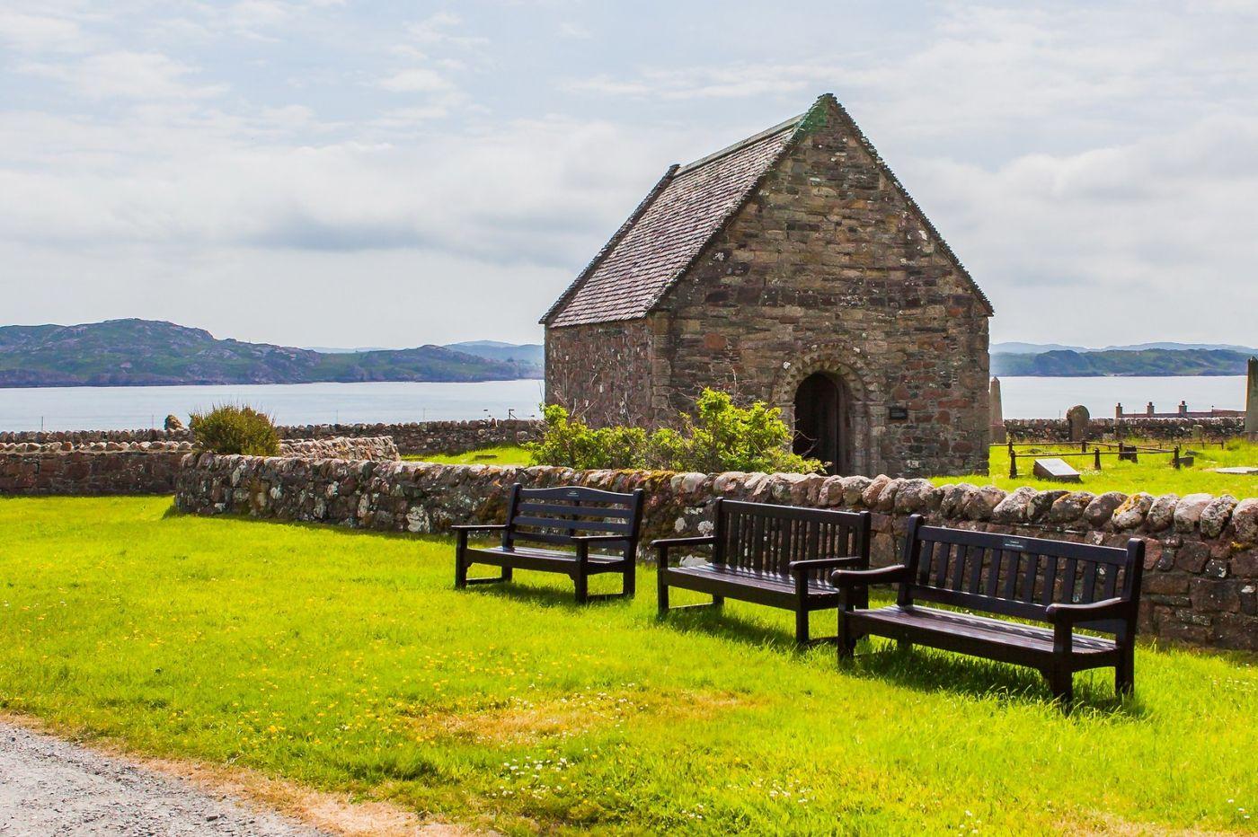 苏格兰圣奥兰教堂(St Oran's Chapel),风景优美_图1-20