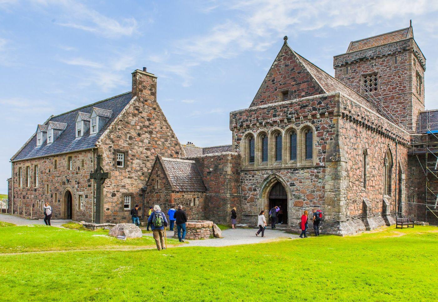 苏格兰圣奥兰教堂(St Oran's Chapel),风景优美_图1-22