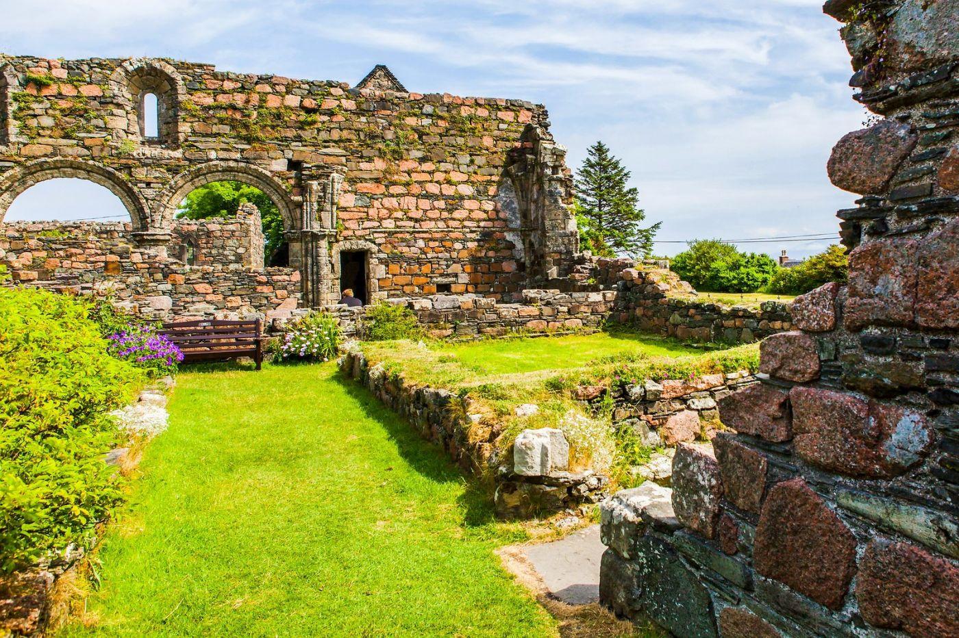 苏格兰圣奥兰教堂(St Oran's Chapel),风景优美_图1-28