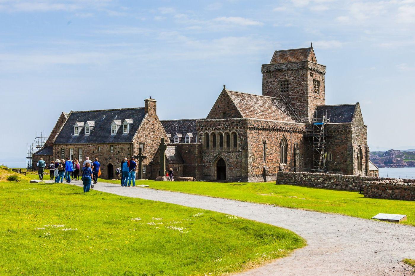 苏格兰圣奥兰教堂(St Oran's Chapel),风景优美_图1-25