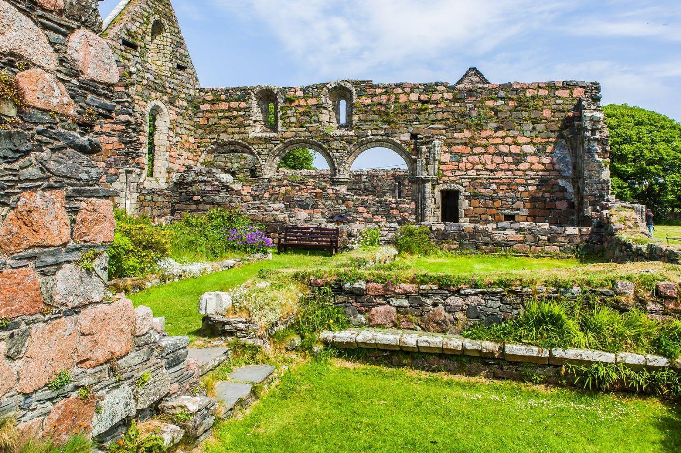 苏格兰圣奥兰教堂(St Oran's Chapel),风景优美_图1-33