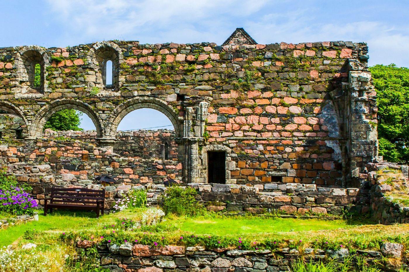 苏格兰圣奥兰教堂(St Oran's Chapel),风景优美_图1-34