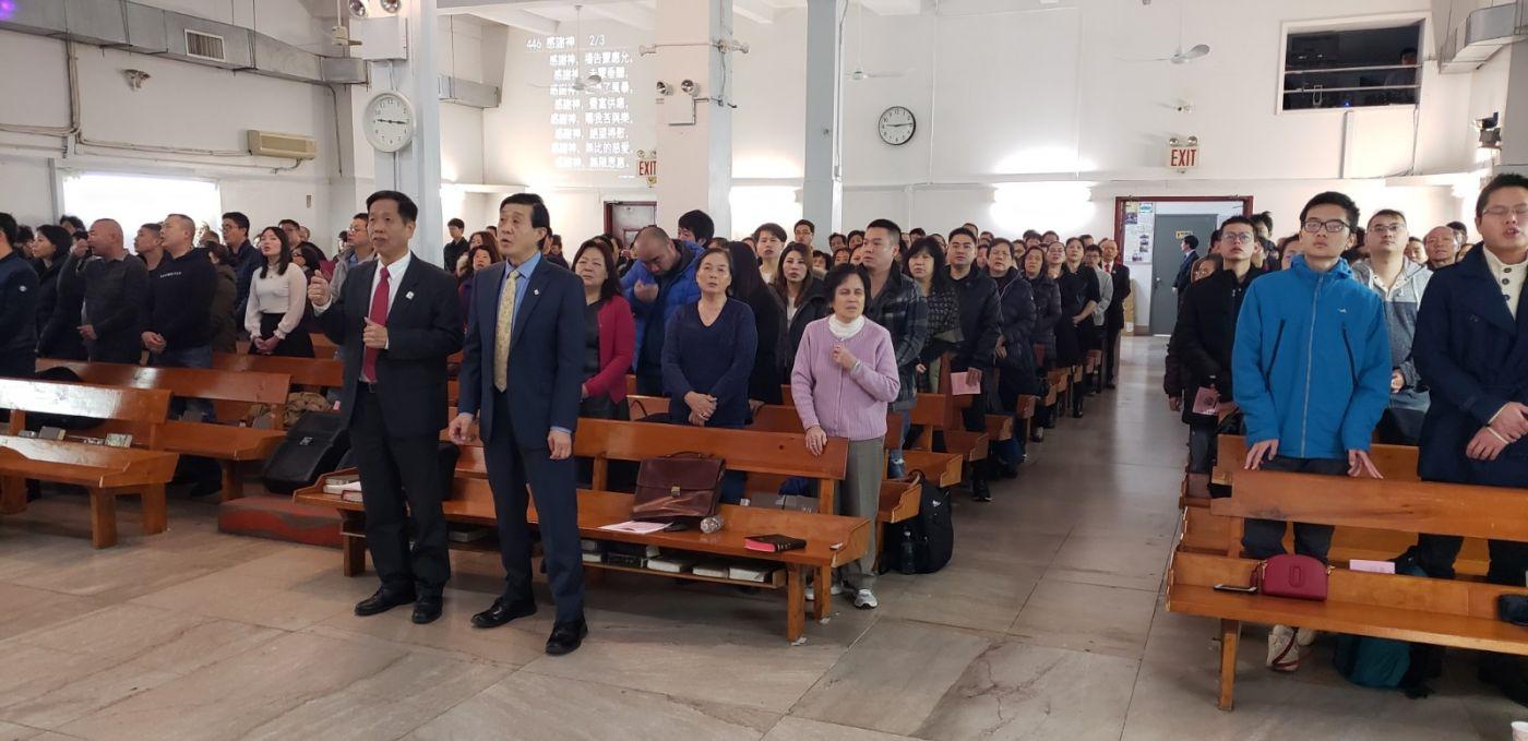 2019紐約基督閩恩教會舉辦感恩節崇拜_图1-4