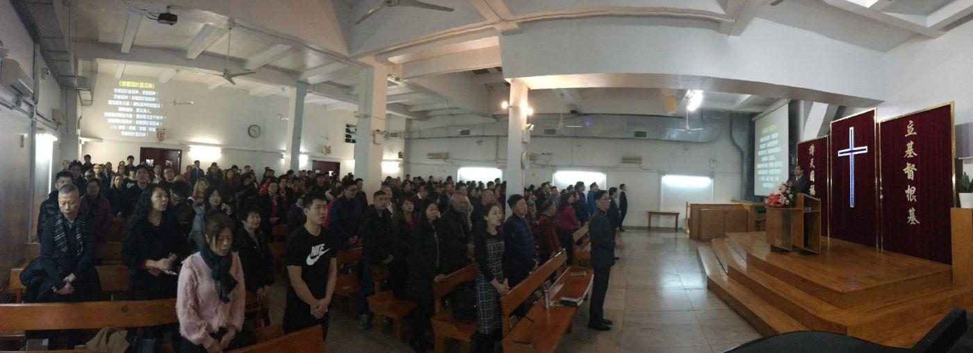 2019紐約基督閩恩教會舉辦感恩節崇拜_图1-5