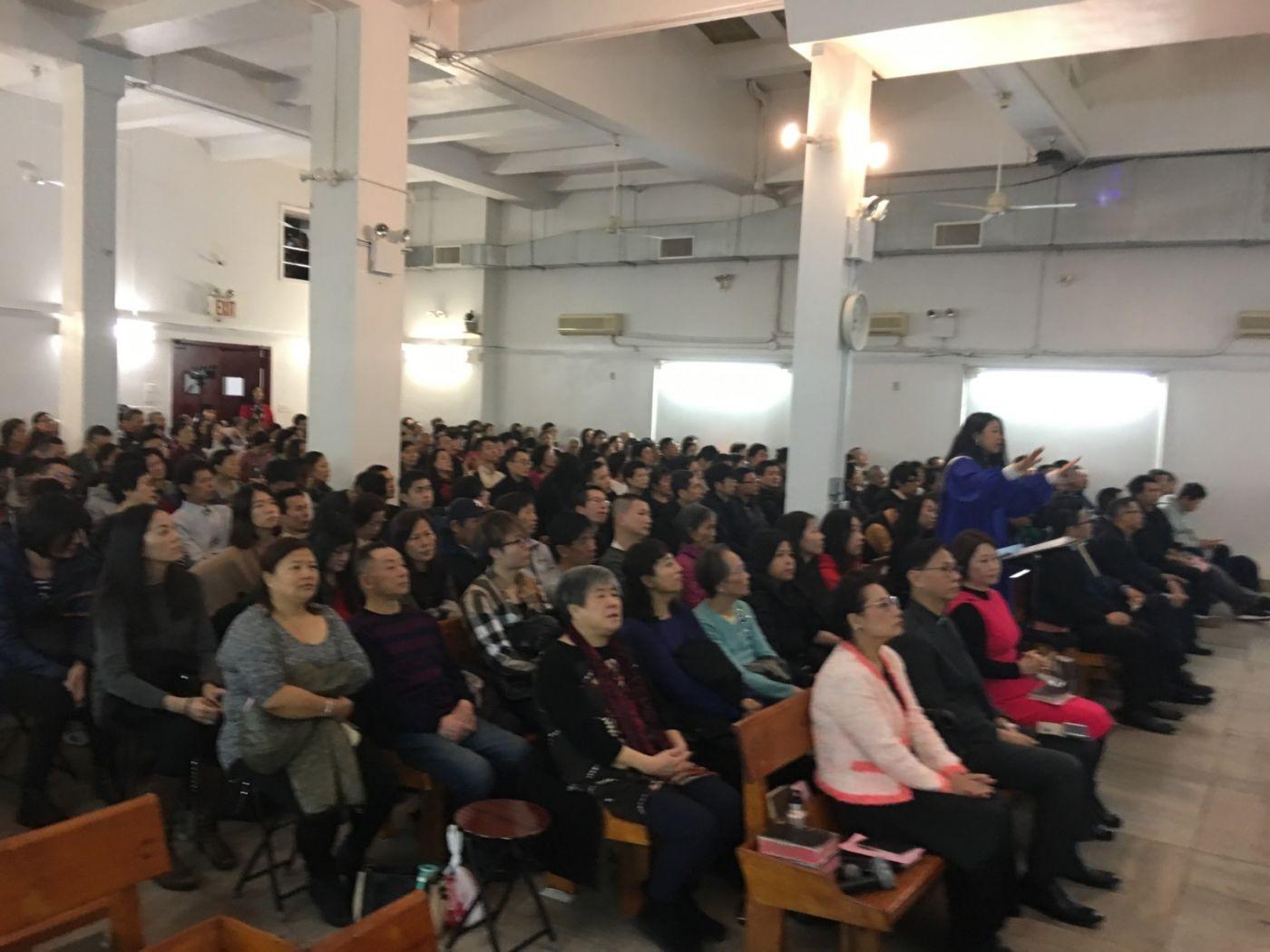 2019紐約基督閩恩教會舉辦感恩節崇拜_图1-8