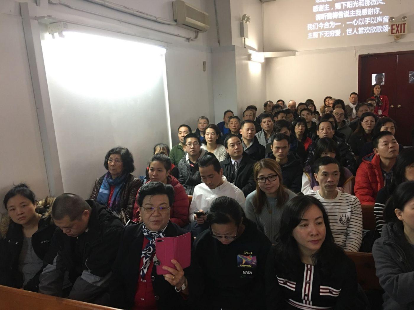 2019紐約基督閩恩教會舉辦感恩節崇拜_图1-9