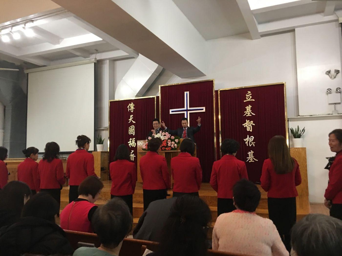 2019紐約基督閩恩教會舉辦感恩節崇拜_图1-12
