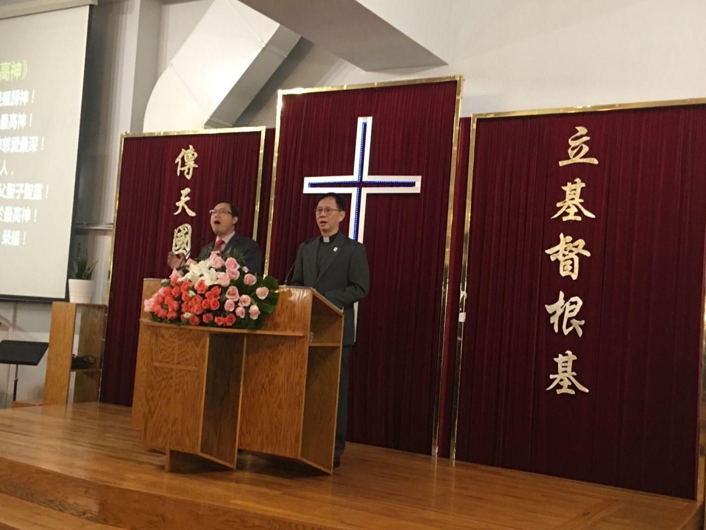 2019紐約基督閩恩教會舉辦感恩節崇拜_图1-14