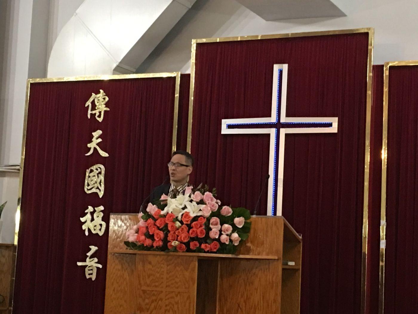 2019紐約基督閩恩教會舉辦感恩節崇拜_图1-19
