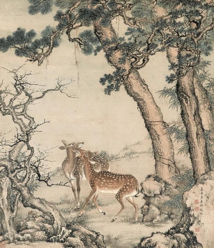 中国画·古松观止 第二部分_图1-29