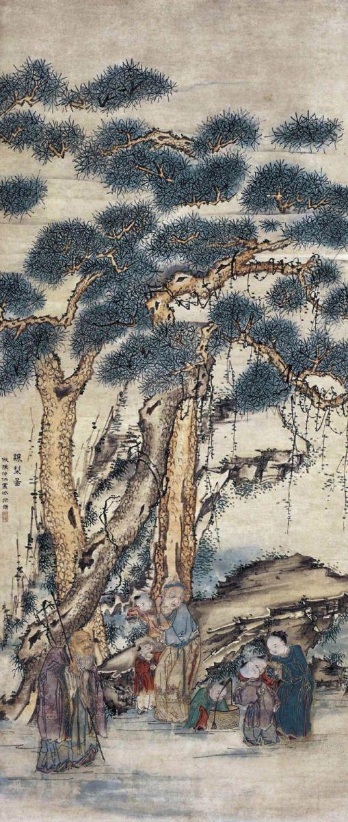 中国画·古松观止 第二部分_图1-38