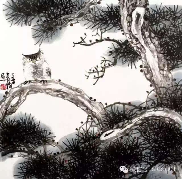中国画·古松观止 第二部分_图1-40