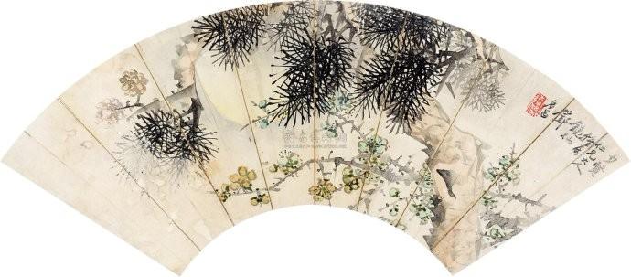 中国画·古松观止 第二部分_图1-48