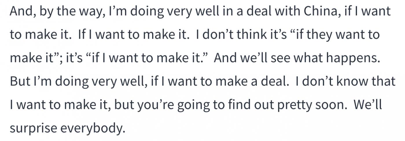 特朗普说要把贸易谈判拖到大选之后_图1-2