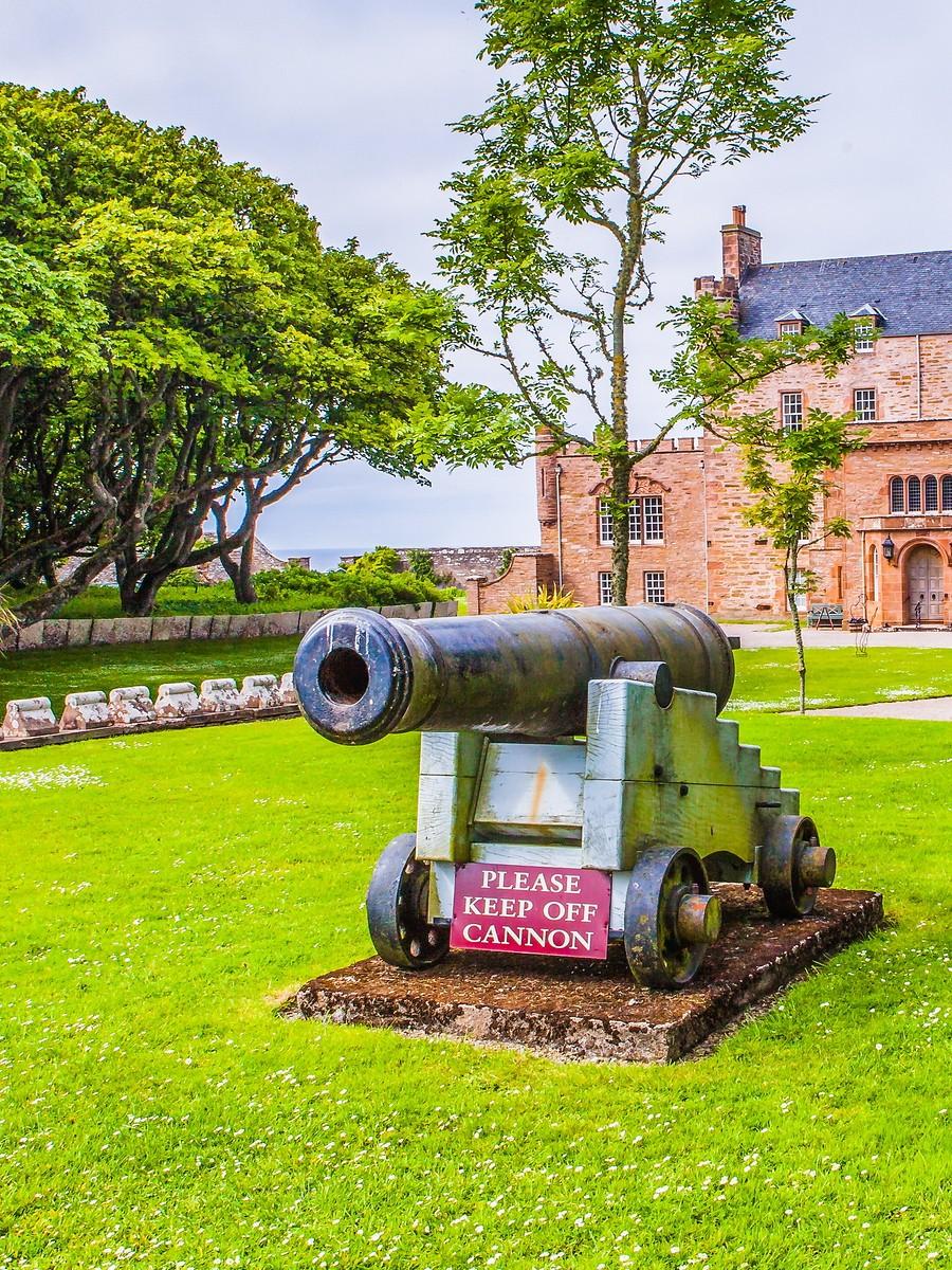 苏格兰梅城堡(Castle of Mey),花园散步_图1-9