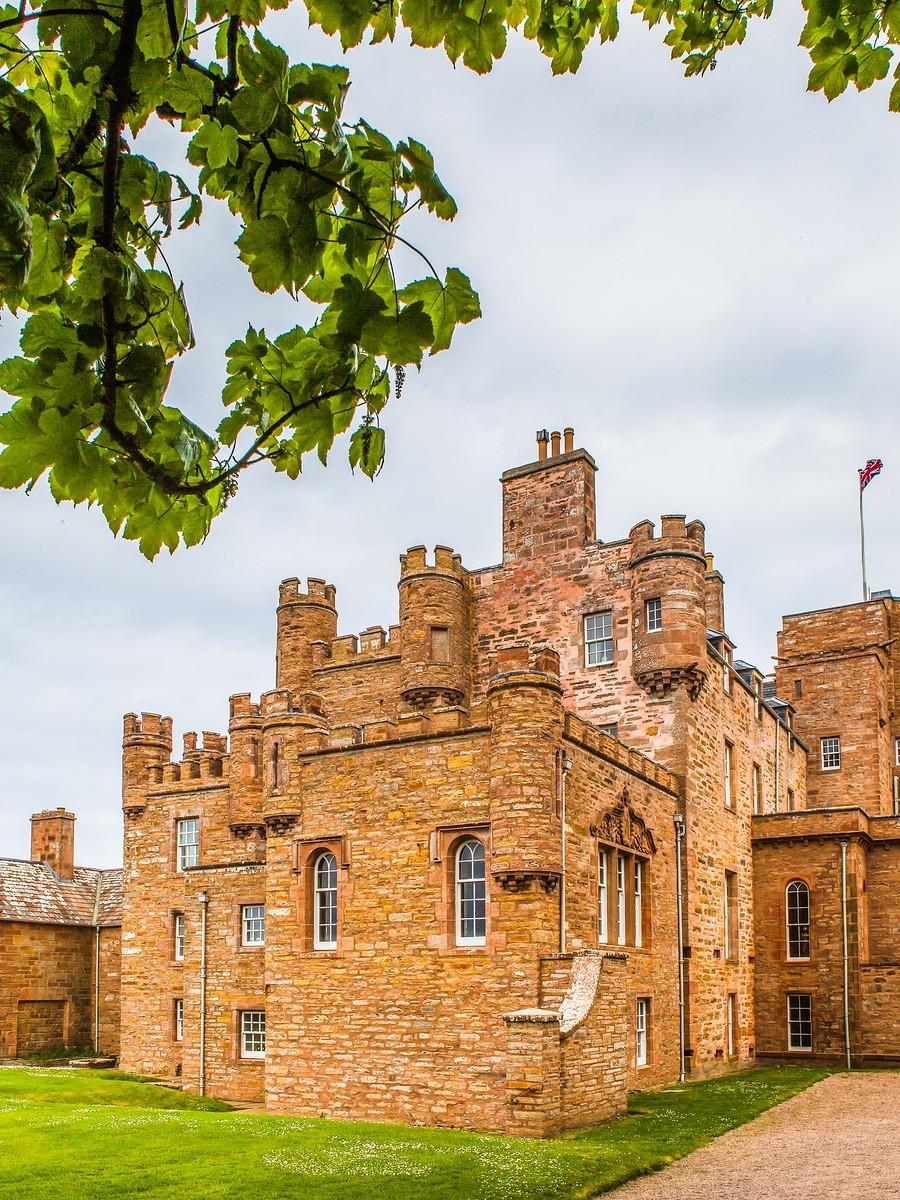 苏格兰梅城堡(Castle of Mey),花园散步_图1-11